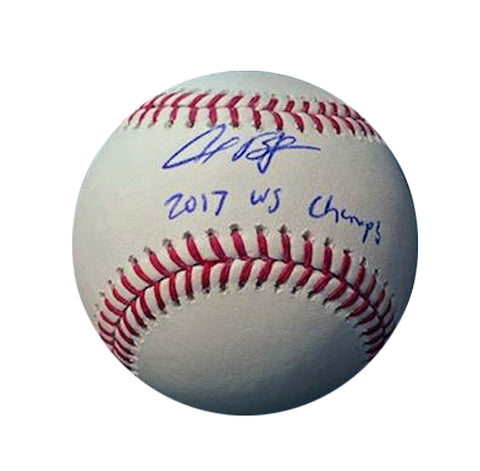 Alex Bregman Autographed Baseball -  2017 World Series
