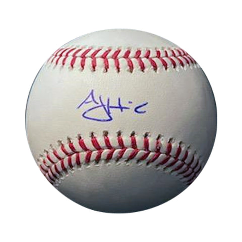 AJ Hinch Autographed Rawlings Official Major League Baseball