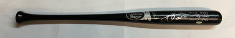 "Jeff Bagwell ""HOF 2017"" Autographed Game Model Louisville Slugger Bat"