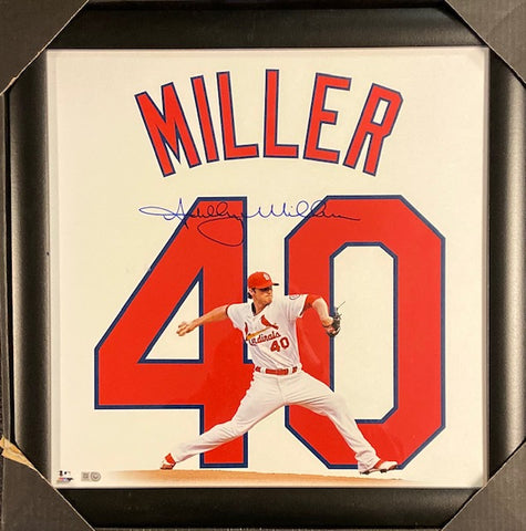 Shelby Miller Autographed Framed 16x20