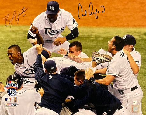BJ Upton/ Carl Crawford Autographed Photo