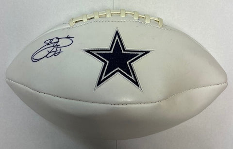 Emmit Smith Autographed Football
