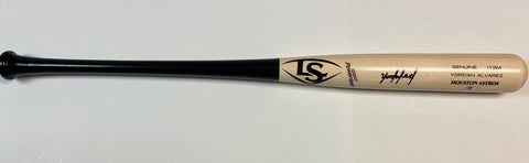 Yordan Alvarez Autographed Game Model Louisville Slugger Bat