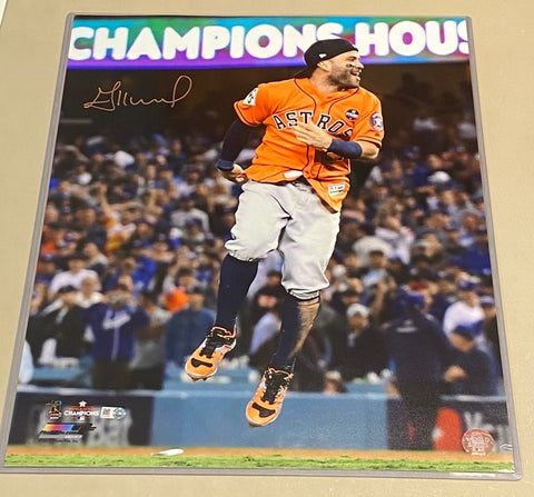 Jose Altuve Celebration 16x20
