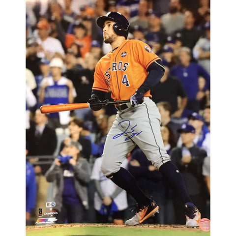 George Springer World Series HR 16x20