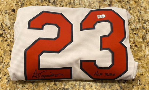"Ted Simmons Autographed ""HOF 2020"" Cardinals Replica Jersey"