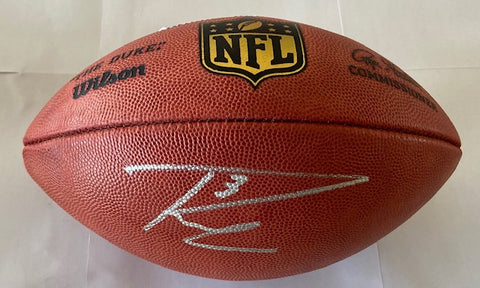 Russell Wilson Autographed Wilson Official NFL Leather Football (RW Authentication)