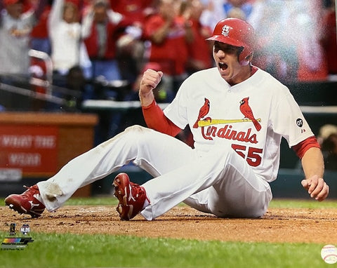 UNSIGNED Stephen Piscotty (sliding) 16x20