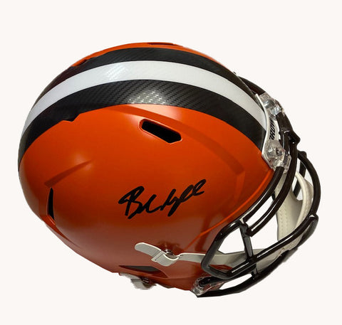 Baker Mayfield Autographed Cleveland Browns Replica Full Size Helmet (Beckett Auth)