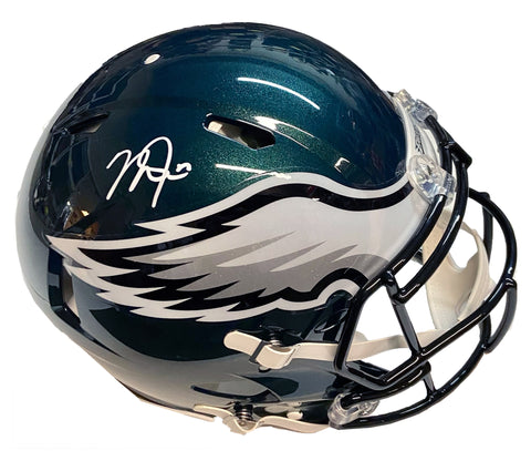 Mike Trout Autographed Authentic Speed Philadelphia Eagles Football Helmet