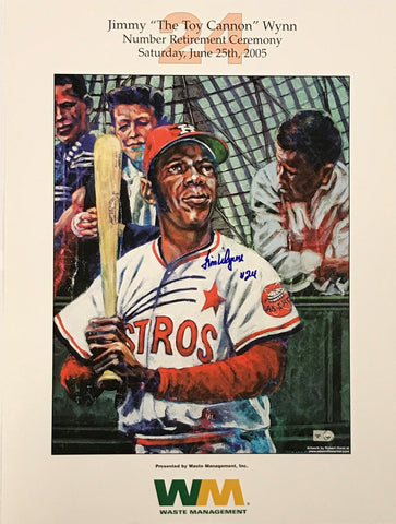 Jimmy Wynn Autographed 16x20 Promotional Poster