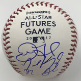 2017 Futures Participates Dual Signed 2017 Futures Game Logo Baseball Option #5