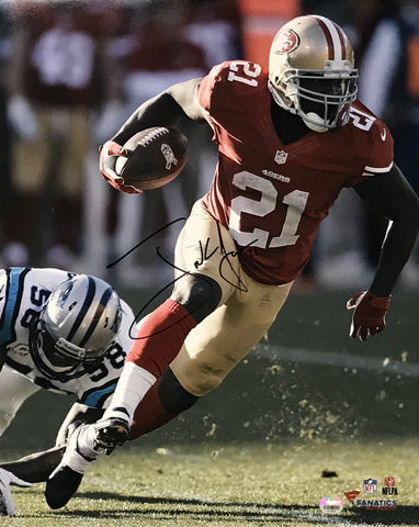 Frank Gore Autographed 16x20 Photo (Rushing)