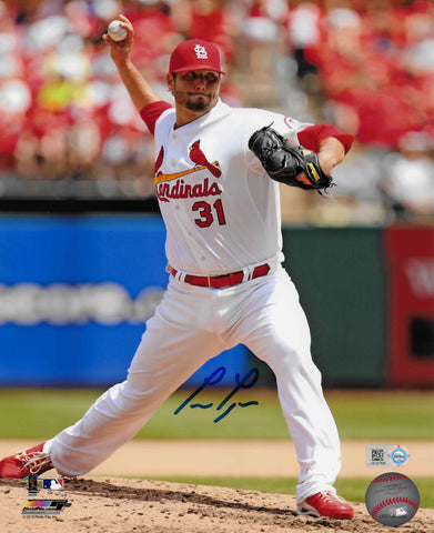 Lance Lynn Autographed 8x10 Photo (Pitching)