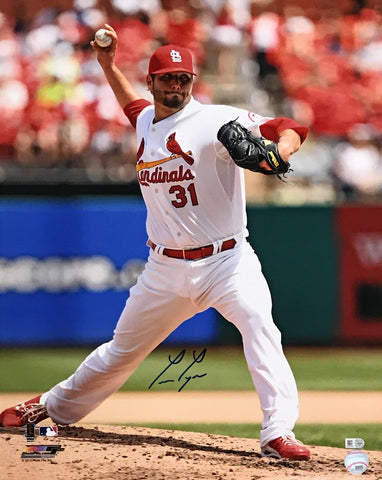Lance Lynn Autographed 16x20 Photo (Pitching)