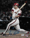 Greg Luzinski Autographed 8x10 Photo (Batting)