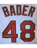 Harrison Bader Autographed St. Louis Cardinals White Replica Jersey