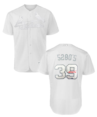 Miles Mikolas Autographed 2019 Authentic Players' Weekend Nickname Jersey