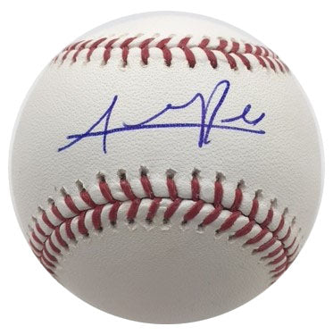 Addison Russell Autographed Baseball