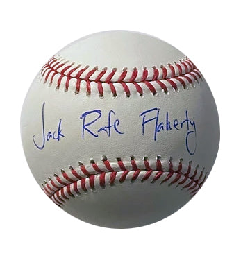 Jack Flaherty Autographed Full Name Baseball (Jack Rafe Flaherty)