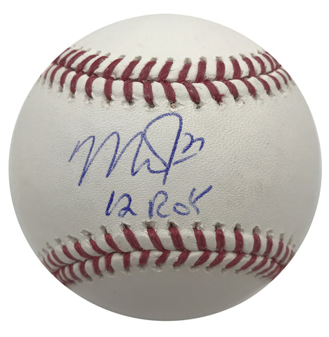 "Mike Trout ""12 ROY"" Autographed Baseball"