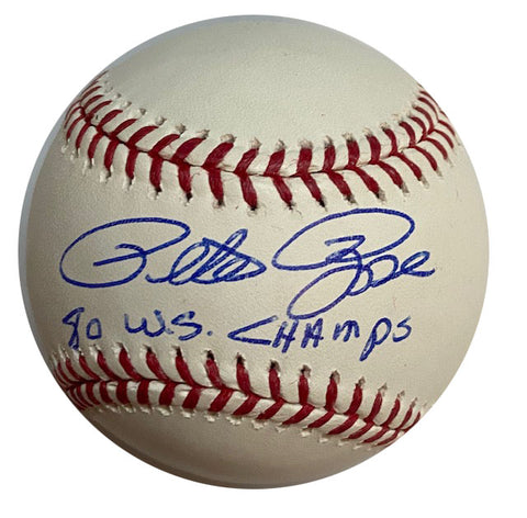 "Pete Rose ""80 WS Champs"" Autographed Baseball  (Rose Authenticated)"