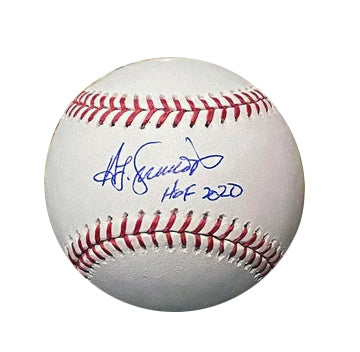 "Ted Simmons Autographed ""HOF 2020"" Baseball"
