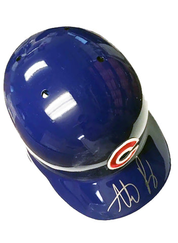 Anthony Rizzo Autographed Cubs Batting Helmet