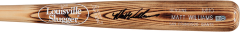 "Matt Williams Autographed ""Carson Crusher"" Louisville Slugger Bat"