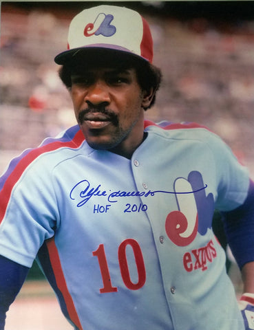 "Andre Dawson ""HOF 2010"" Autographed 11x14 Photo"