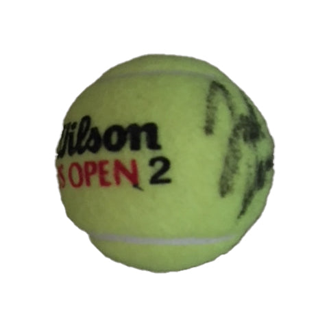 John Isner Autographed 2018 US Open Tennis Ball