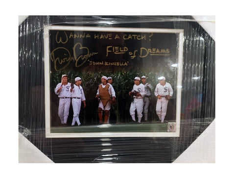 Dwier Brown Autographed Field of Dreams Movie 11x14 Framed Photograph