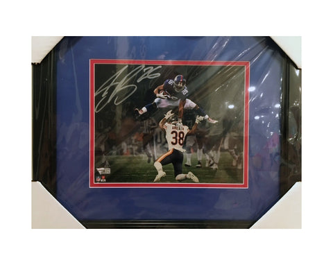 Saquon Barkley Autographed New York Giants Action Framed 8x10 Photograph