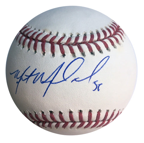 Miles Mikolas Autographed Rawlings Official Major League Baseball