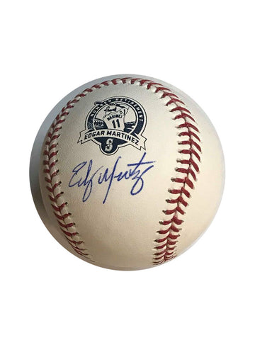 Edgar Martinez Autographed Retirement Baseball