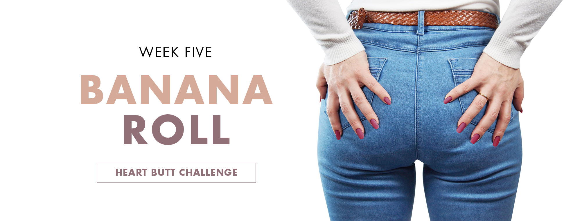 Heart Butt Challenge - Week 3, FasciaBlaster Routine Heading