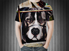 T-Shirt - Animal dog pit bull