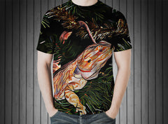 T-Shirt - Bearded dragon lizard reptile