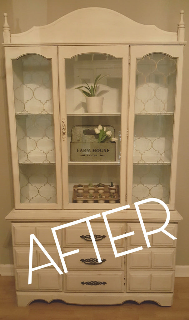 Vintage Buffet: 3-Step Simple Makeover