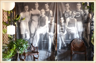Track Team Linen Panel / Curtain