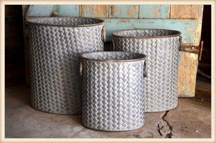 Tin Basketweave