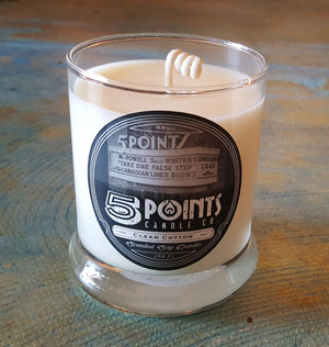 5 Points Candle Co Scented Soy Wax Candle
