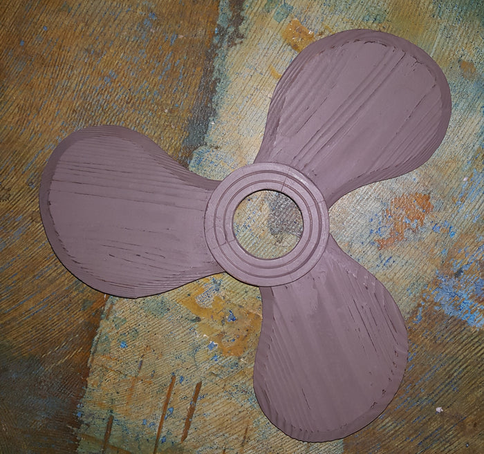 Weathered Wood Propeller - 16.75 inch