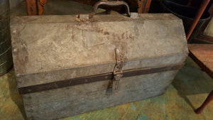 Vintage Tool Box with Handle