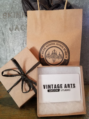 GIFT CARD for Vintage Arts