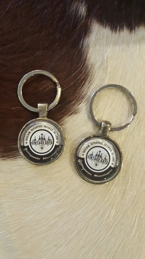 Vintage Arts key chain