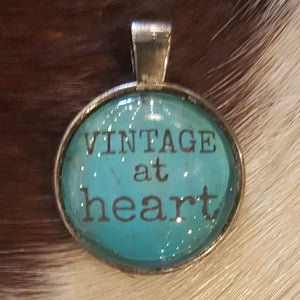 Vintage at Heart pendant