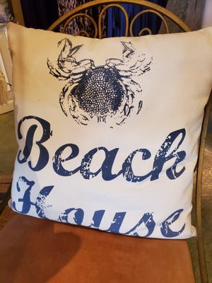 Beach House Pillow - new