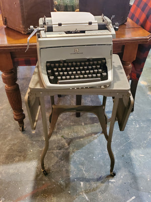 Vintage Metal Typewriter Table
