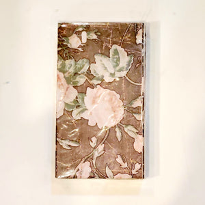 Vintage rose dinner napkins